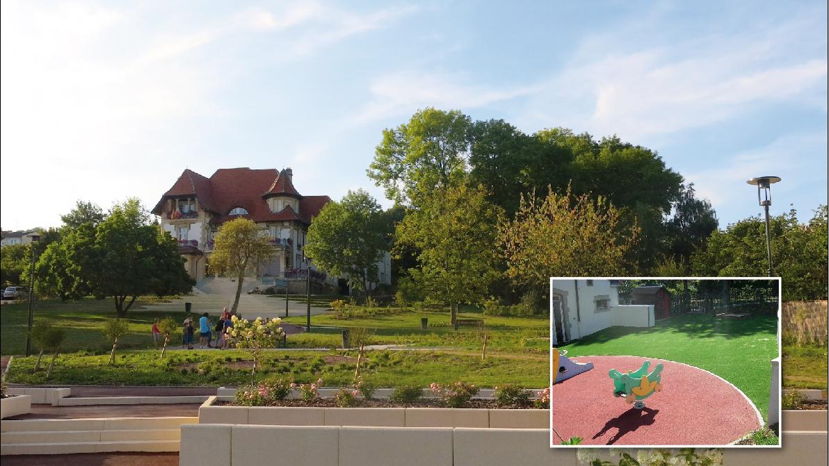 Les parcs jardins ville de laxou site officiel for Piscine de laxou